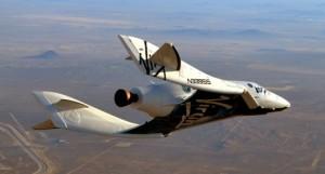 SpaceShipTwo-glide