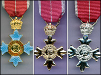 honour medals