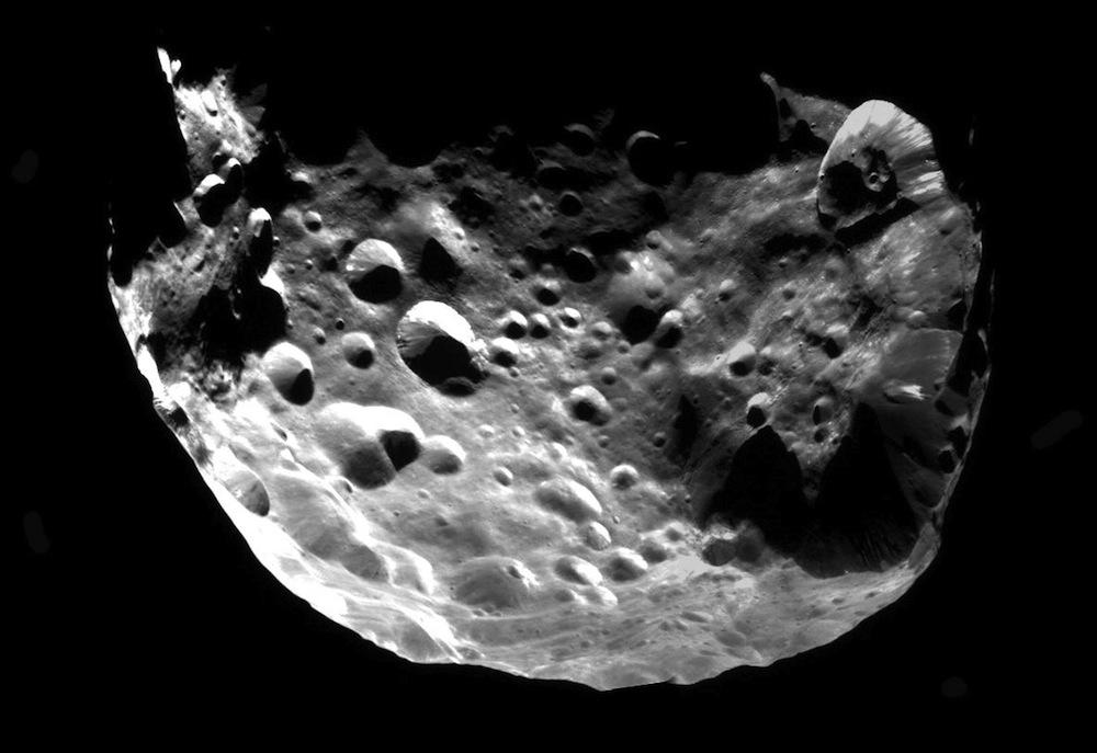 Saturn S Moon Phoebe May Be A Kuiper Belt Planetesimal